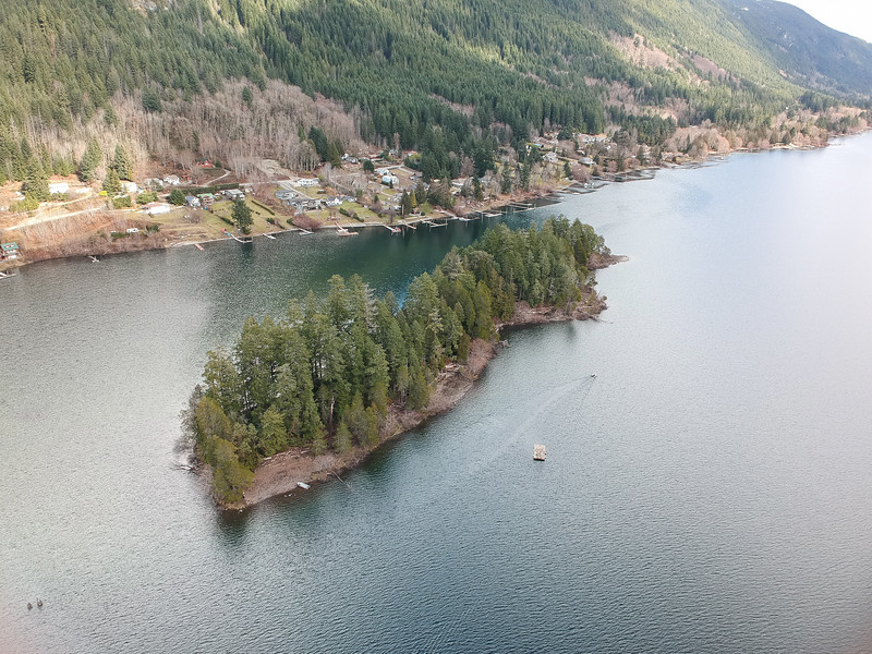 Aerial Drone Photographs - Cowichan Valley, Vancouver Island, British Columbia, Canada