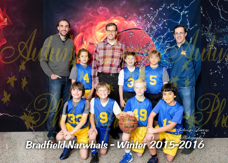 4B Bradfield Narwhals - PCYMCA Basketball