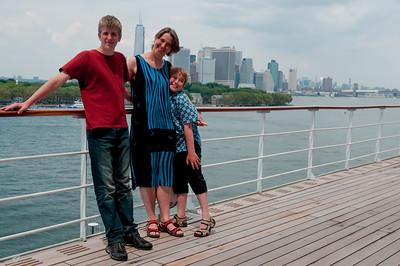 New York: Abreise