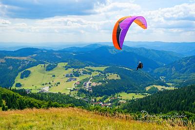 Paragliding at Donovaly - 08/16/2017