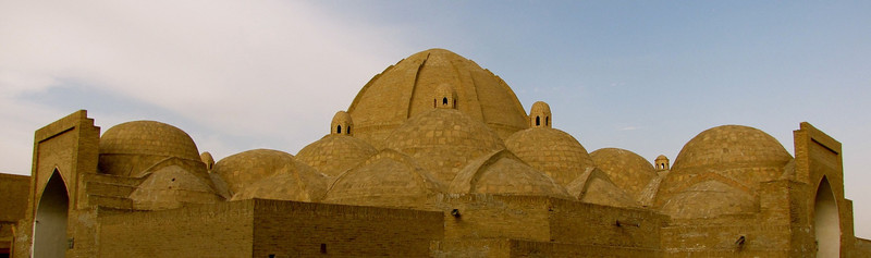 Bukhara domed rooftop