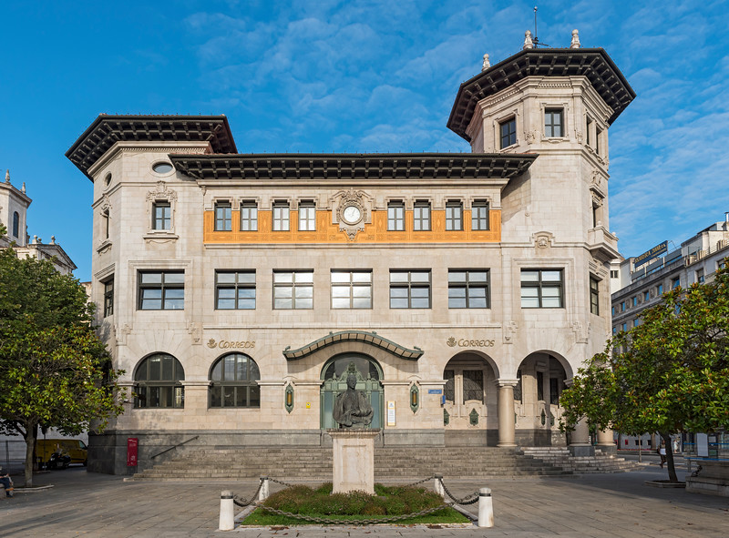 Main Post Office Building, Santander