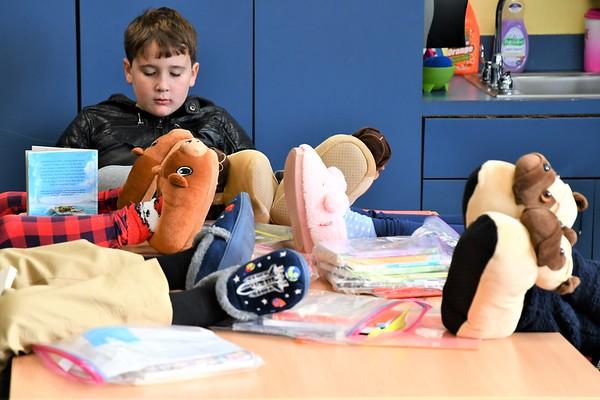 Feet-Up Fridays in Second Grade Reading/Language Arts