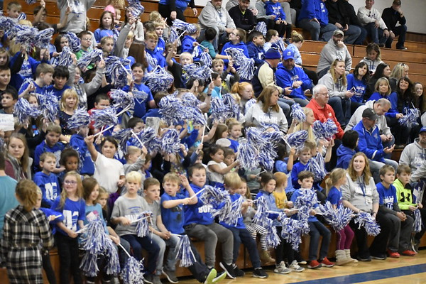 Mondovi football Level 4 pep assembly and send-off
