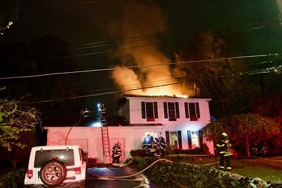 Structure Fire - Oakridge Pkwy, Peekskill NY - 10/3/19