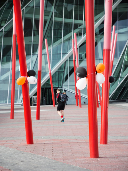 Grand Canal Square in Dublin Docklands