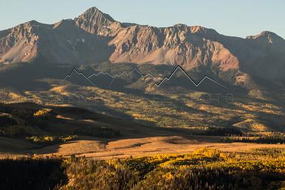 Wilson Peak outside Telluride, CO