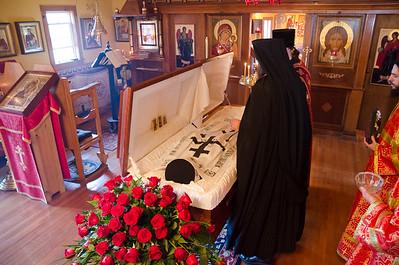 Funeral of Monk Peter