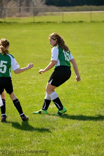 April 16, 2016 - PSC 05 Girls White - Game