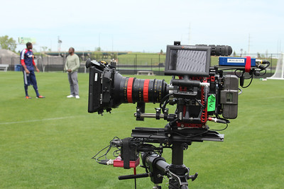 Promo shoot with Red Epic at Toyota Park