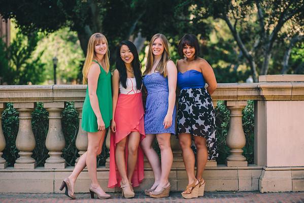 Jenna, Lucy, Lauren, & Emma