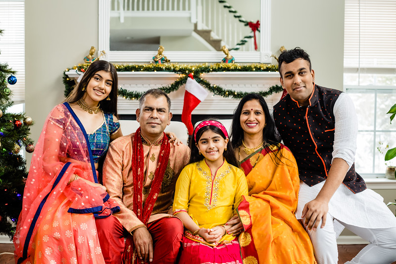 Mulay Family's Christmas Photo Session