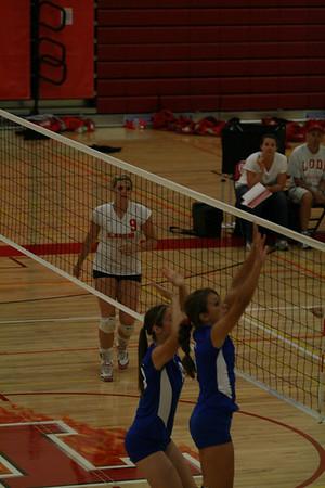 2008 FHS Varsity VB at Lodi 09-29-08