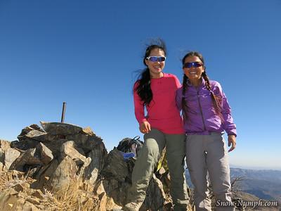 2014 (Oct 24)  New peak for me!  San Rafael Peak (6,666'), Los Padres NF