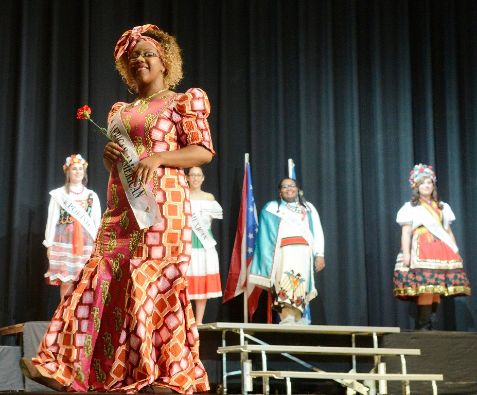 . Maribeth Joeright/MJoeright@News-Herald.com <p> Ta\'nya Drummer, African American Princess, was one of the contestants of the 48th annual Lorain International Princess Pageant, June 26, 2014.