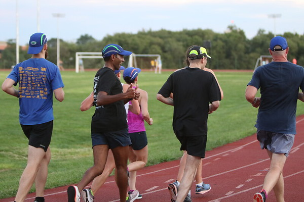 Track Workout - August 28th