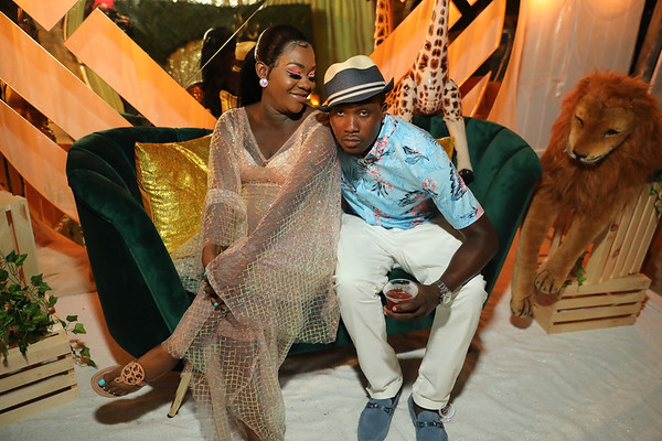 STACEY AND QWESI    SHOWER