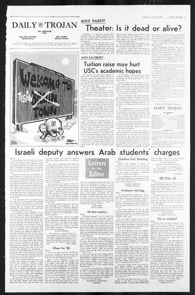 Daily Trojan, Vol. 59, No. 47, November 29, 1967