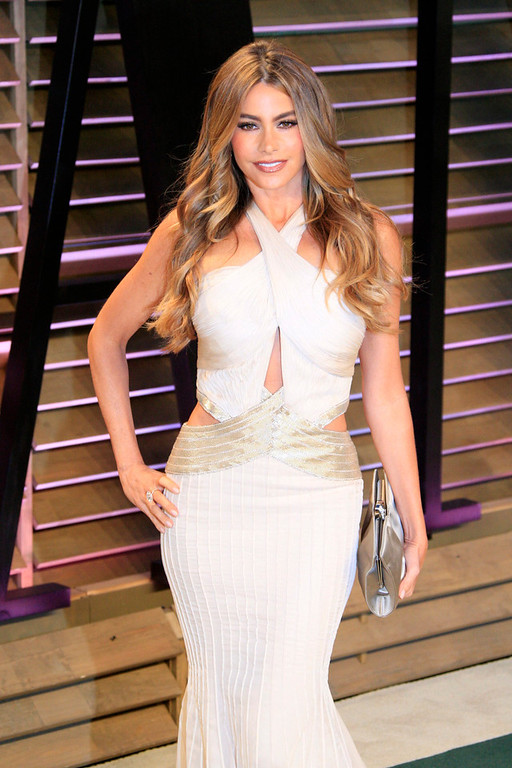 . Sofia Vergara arrives for the Vanity Fair Oscar After-Party following the 86th annual Academy Awards ceremony in Hollywood, Los Angeles, California, USA, 02 March 2014.  EPA/NINA PROMMER