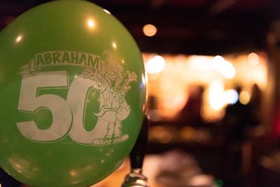 Verrassingsfeest 50 jaar Ronny