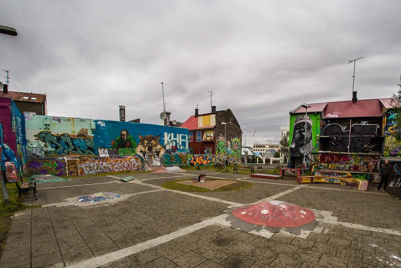 The Heart Garden in Reykjavik