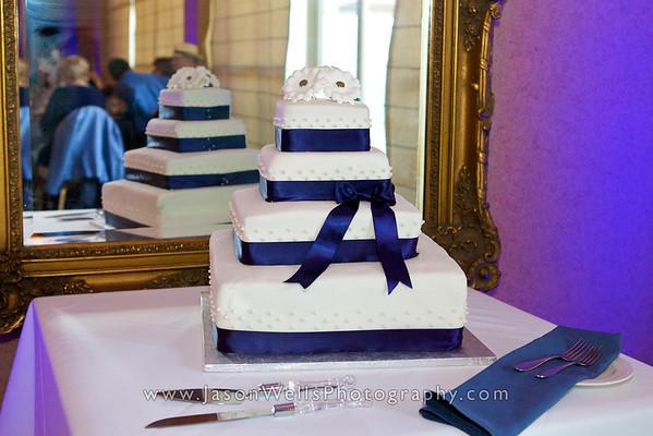 Reception - Cake & Garter