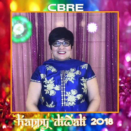 CBRE Diwali Celebration 2018 Photobooth Images
