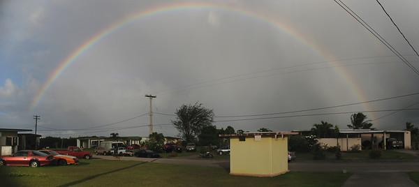2011-05-06 Front Yard Rainbow