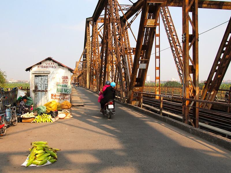 Bridge in Hanoi, Vietnam