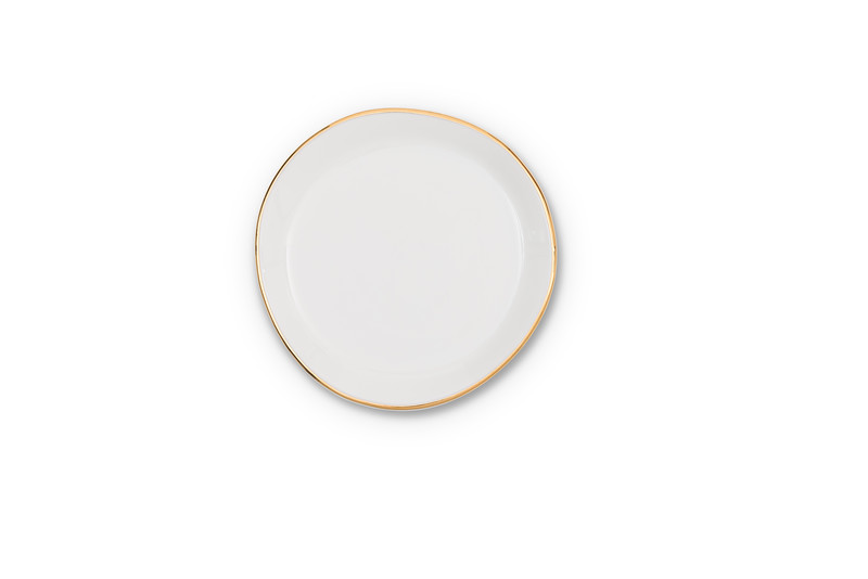 UNC Good Morning Plate Small - Morning White