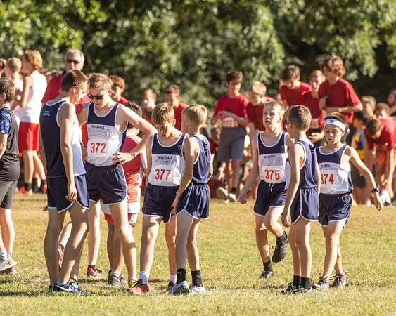 2021-09-24 Hillsdale Academy JV and JH Cross Country at Jackson Invite
