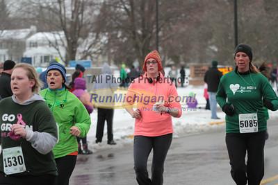 Women's 5K Finish Part 4 - 2013 Spectrum Health Irish Jig