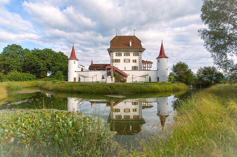 Schloss Wyher, renoviertes Schloss heute