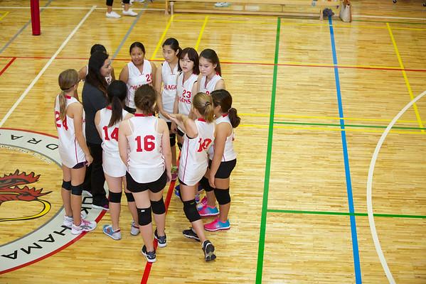 2014-15 MS Girls Volleyball