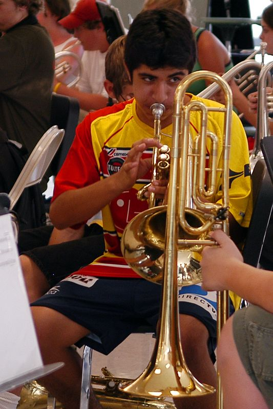 2005-08-02: Band Camp Day 2 (Evening Practice)