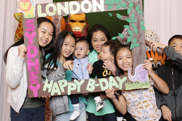 Sydney & London's Birthday