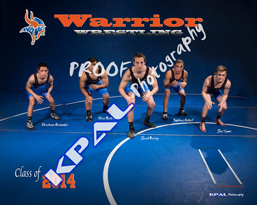 Wrestling Team Photos 2014