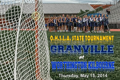 2014 OHSLA Tournament Granville at Worthington Kilbourne (05-15-14)