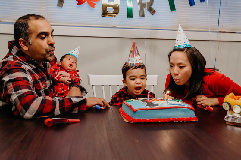 joshua's 2nd birthday (nov 2018)