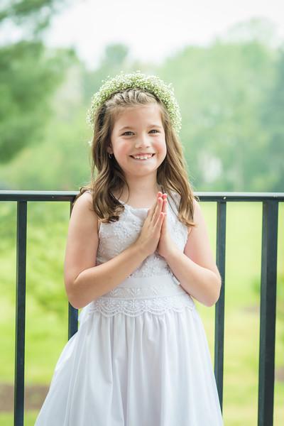 Ella's First Communion