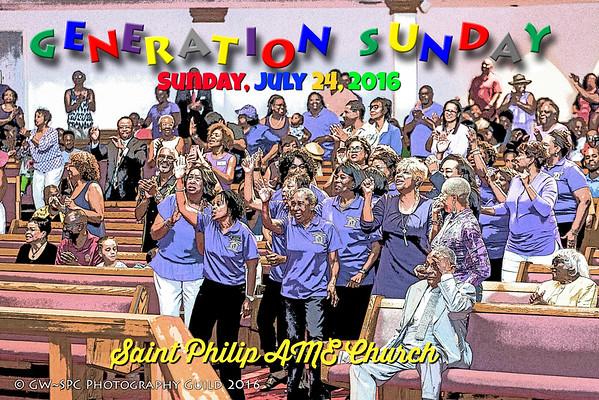 Generations Sunday Service 2016