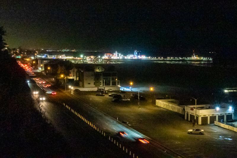 January 6 - Chilly Santa Monica moght in early January.jpg