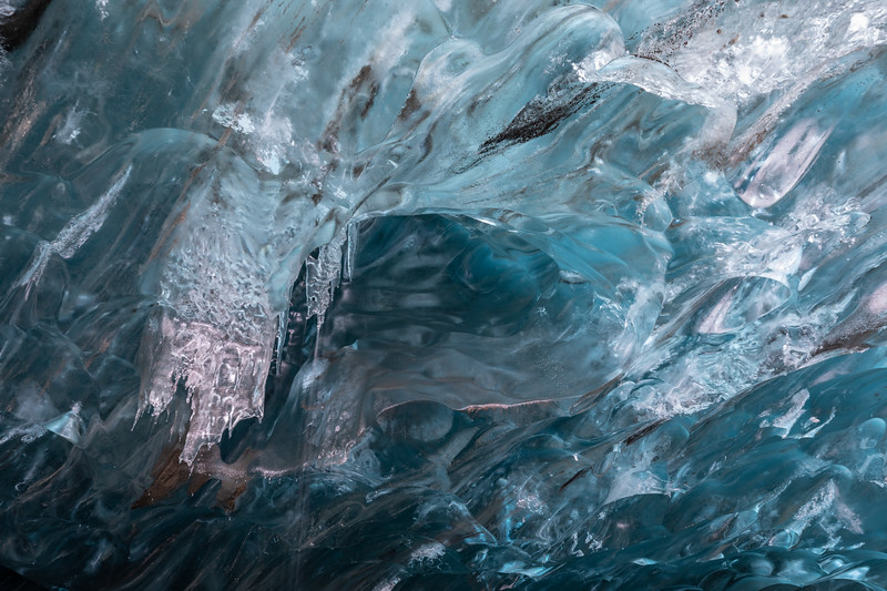 Ice Cave in Vatnajokull NP