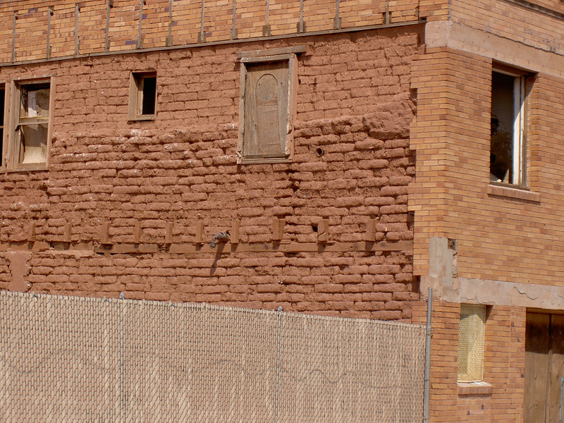 Detail, Adobe Building 