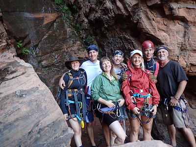 2016 Zion National Park Canyoneering
