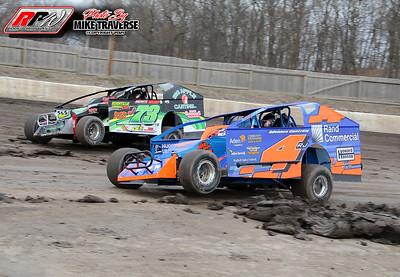 Orange County Fair Speedway Practice - 3/27/21- Mike Traverse