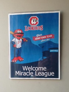 Miracle League at Lookouts Game 2013