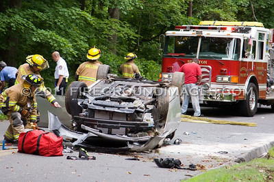 Long Hill Ave. Rollover (Shelton, CT) 6/15/11