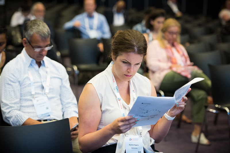 22nd International AIDS Conference (AIDS 2018) Amsterdam, Netherlands   Copyright: Marcus Rose/IAS  Photo shows: TB 2018: Bridging the TB and HIV Communities.