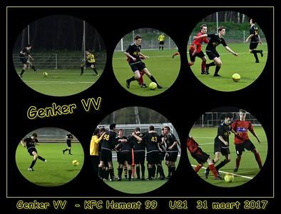 Genker VV - KFC Hamont 99  U21  31/03/2017